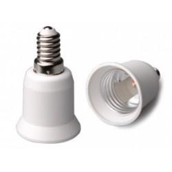 Redukce na žárovku E14 samec / E27 samice
