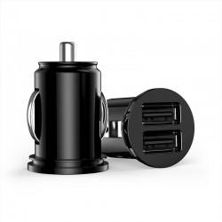 GRIFFIN Micro 2x USB autoadaptér 2.1A, černá
