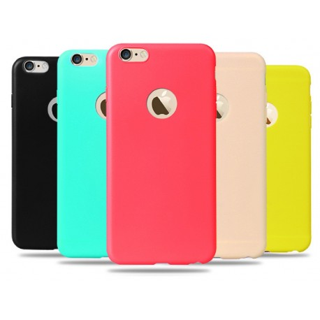 Candy Silikonový kryt na iPhone 6, 7 Plus