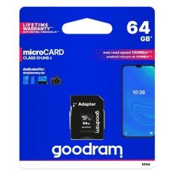 Paměťová karta Goodram  Micro SDXC 64GB