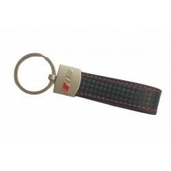 Kožená klíčenka - přívěšek Audi RS