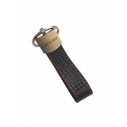 Kožená klíčenka - přívěšek AMG
