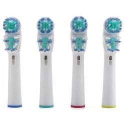 Náhradní zubní kartáčky na ORAL-B Dual Clean univerzální - 4 ks SB-417A