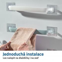 Nalepovací držák na ručníky