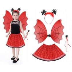 Kostým čarodějnice červená ISO 6409