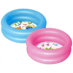 Bestway 51061 Dětský bazének nafukovací 61 x 15 cm Modrý / Růžový