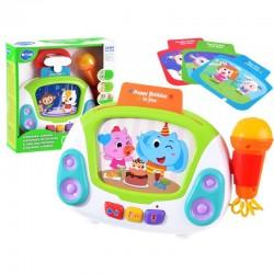 Interaktivní karaoke s mikrofonem pro děti HOLA NO.3138