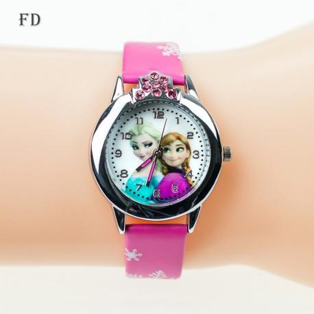Dětské hodinky Princezna Elsa