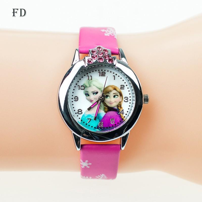 Dětské hodinky Princezna Elsa - Dianashop.cz 0ed00380ec