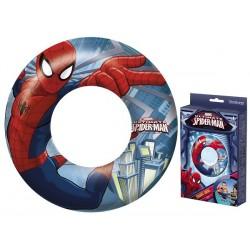 Bestway Kruh dětský nafukovací 51cm Spiderman plavací kolo do vody