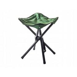 Skládací stolička trojnožka zelená Verk 01280
