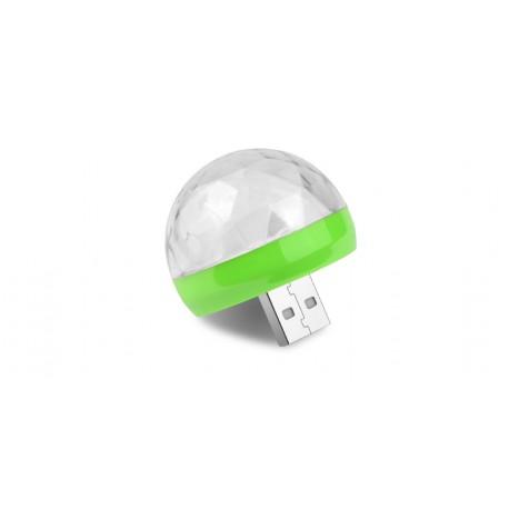 Disko Led zarovka 4W + USB-C Adapter