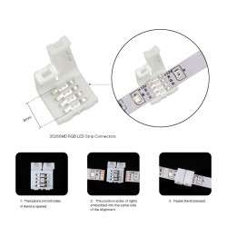 Svorkovnice pro LED pásky 5 kusů