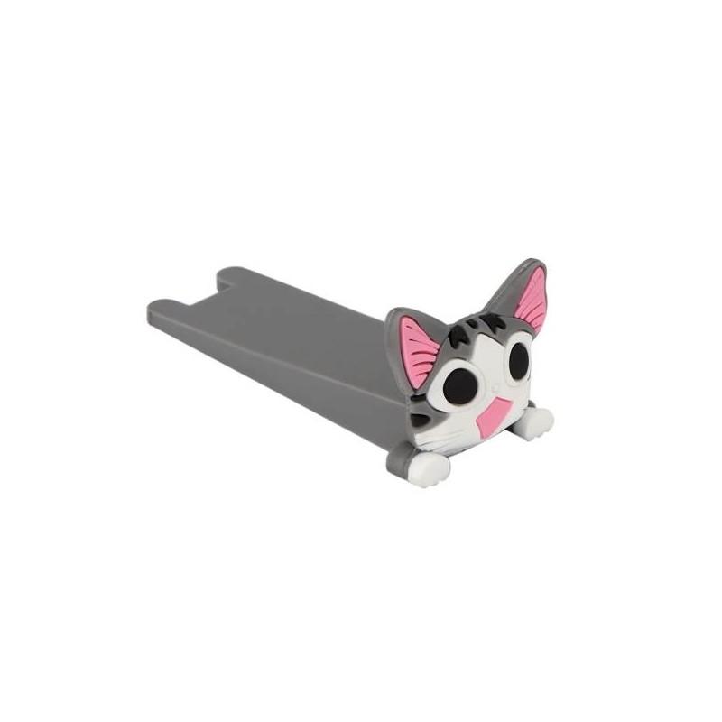 Silikonová dveřní zarážka kočka KX7297