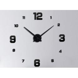 Designové 3D nalepovací hodiny 130cm II