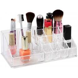 Průhledný organizér na kosmetiku S Verk 15443