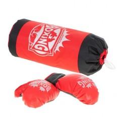 Dětský boxovací pytel s rukavicemi KX6178