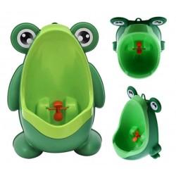 Dětský pisoár žába zelená KX5809