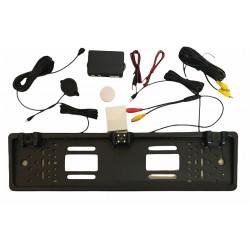 Couvací kamera v rámečku SPZ s 2 čidly