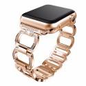 Dámský Luxusní Kovový řemínek Apple Watch 1- 6 series