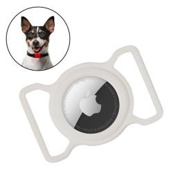 Silikonový pouzdro pro Apple AirTag s obojkem pro psa a kočku