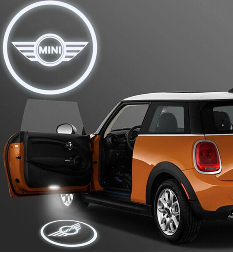 Led logo projektor Mini Cooper