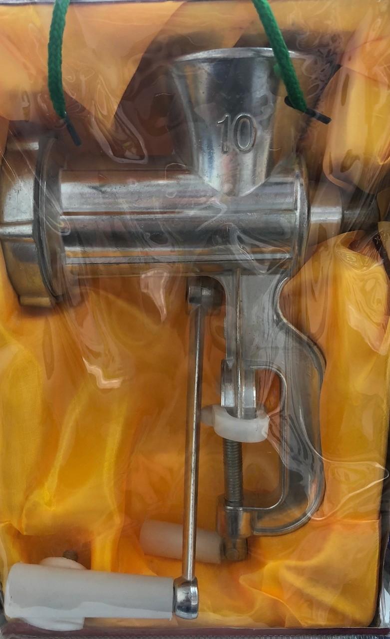 Ruční mlýnek na maso vel. 10 K.S.M.