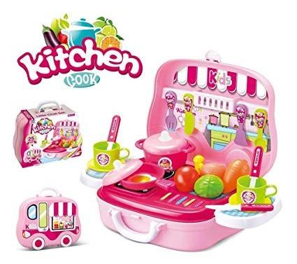 Kufřík Dětská Kuchyňka sada nářadí