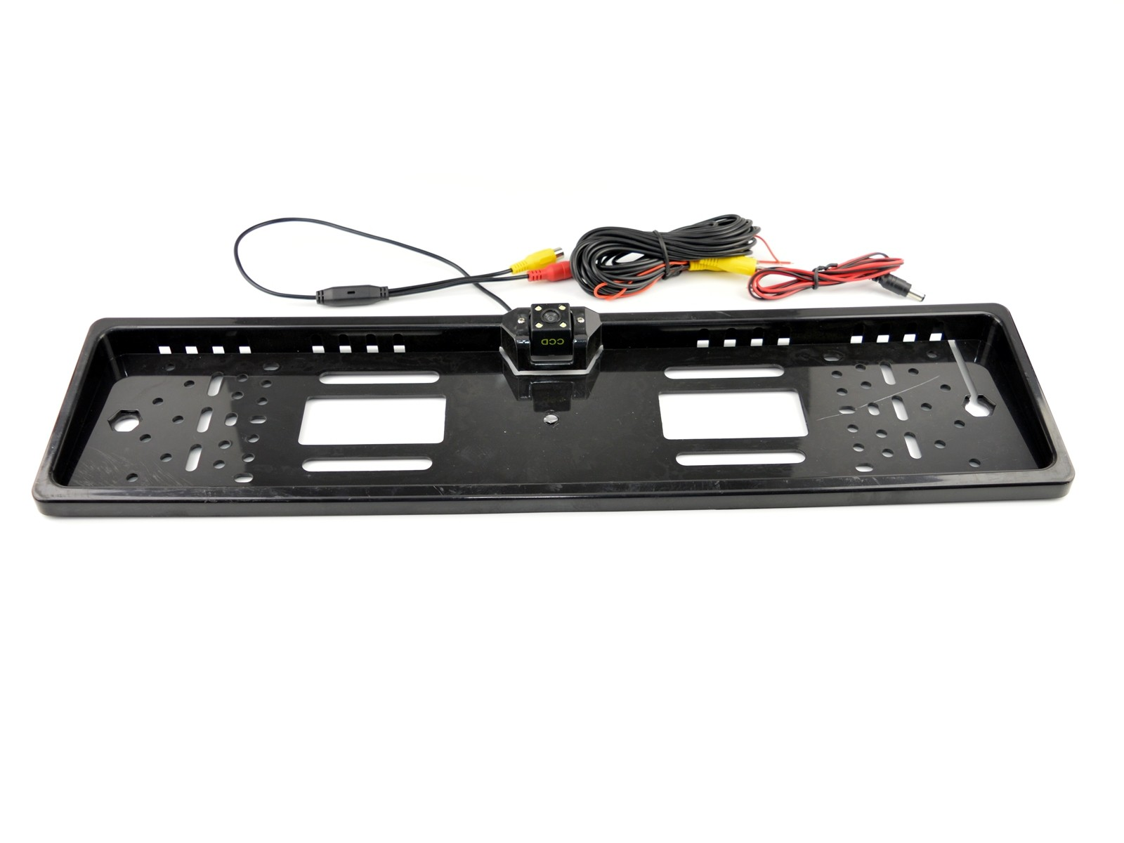 Couvací kamera v rámečku SPZ s přisvícením 4 LED