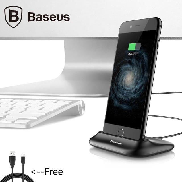 Nabíjecí Dock pro iPhone Baseus - Černá