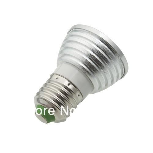 OCDAY Žárovka 5W E27 Multi Color s ovladačem