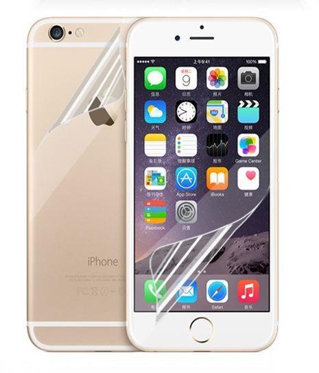 Ochranná folie přední a zadní pro iPhone 5, 6, 7 - iPhone 6 6S