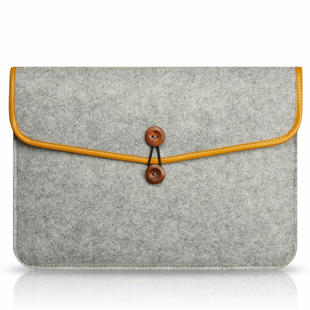 "OXA pouzdro NTB MacBook knoflik - 11"" / Světle šedivá"
