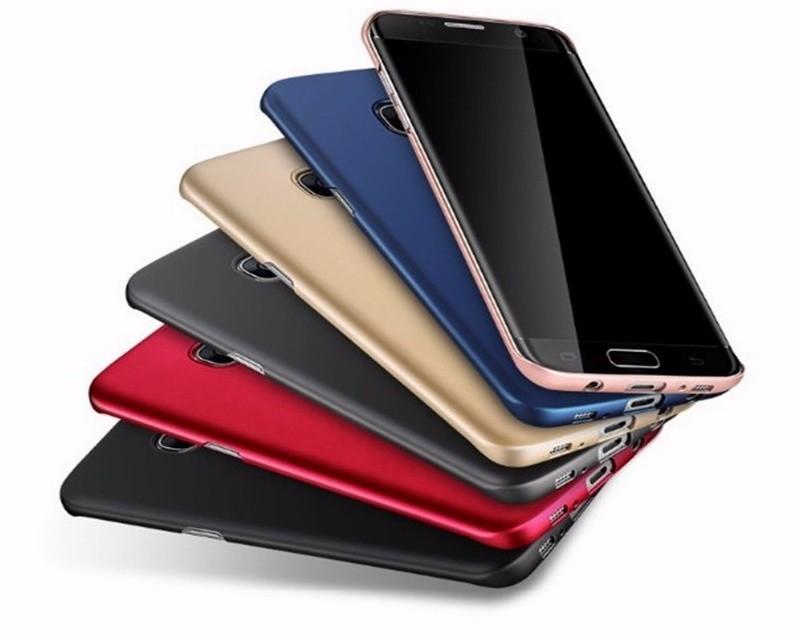 Plastový kryt na Samsung Galaxy S6 - Červená