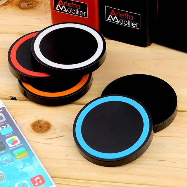 Qi Bezdrátová nabíjecí podložka iPhone 8 - Černá