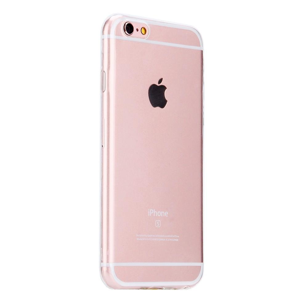 Silikonový průhledný kryt na iPhone - iPhone Plus 6 6S