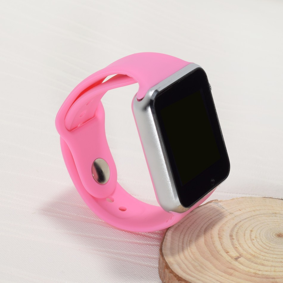 Smart Watch A1 - Růžová