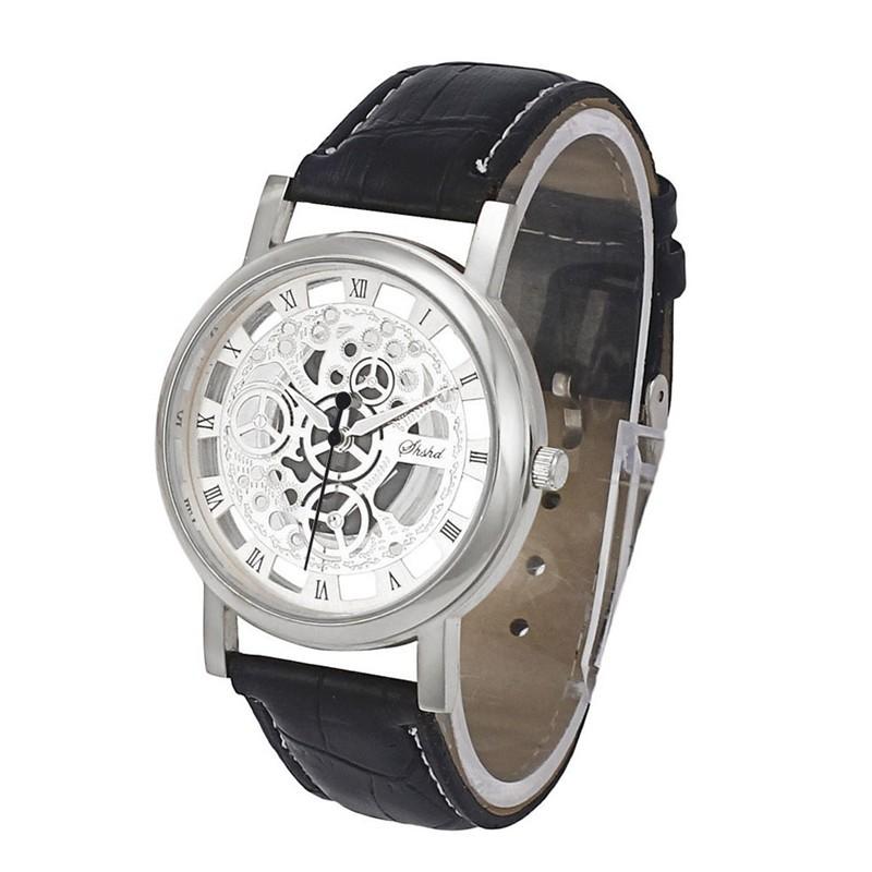 TFO Pánské hodinky w13 s ornamentama - Stříbrná