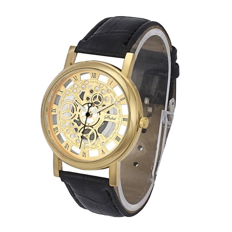 TFO Pánské hodinky w13 s ornamentama - Zlatá