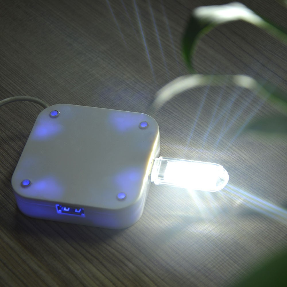 USB LED noční světlo - White