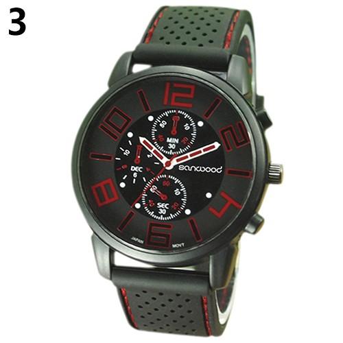 Jushidai Pánské sportovní hodinky - Červená