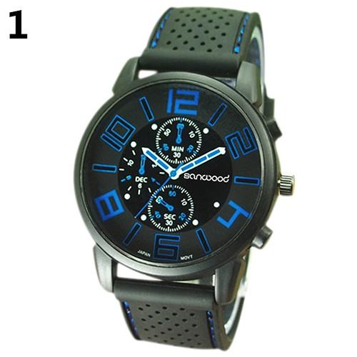 Jushidai Pánské sportovní hodinky - Modrá