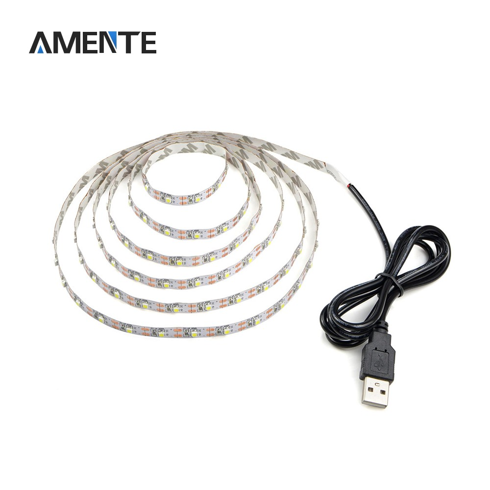 Amente USB led pásek 50 cm - White
