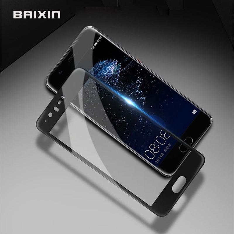 3D Tvrzené sklo Huawei P10/P10 Lite Černé - P10