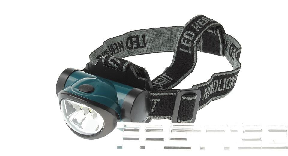 ČELOVÁ LAMPA COB HEADLAMP 3W LED - Zelená