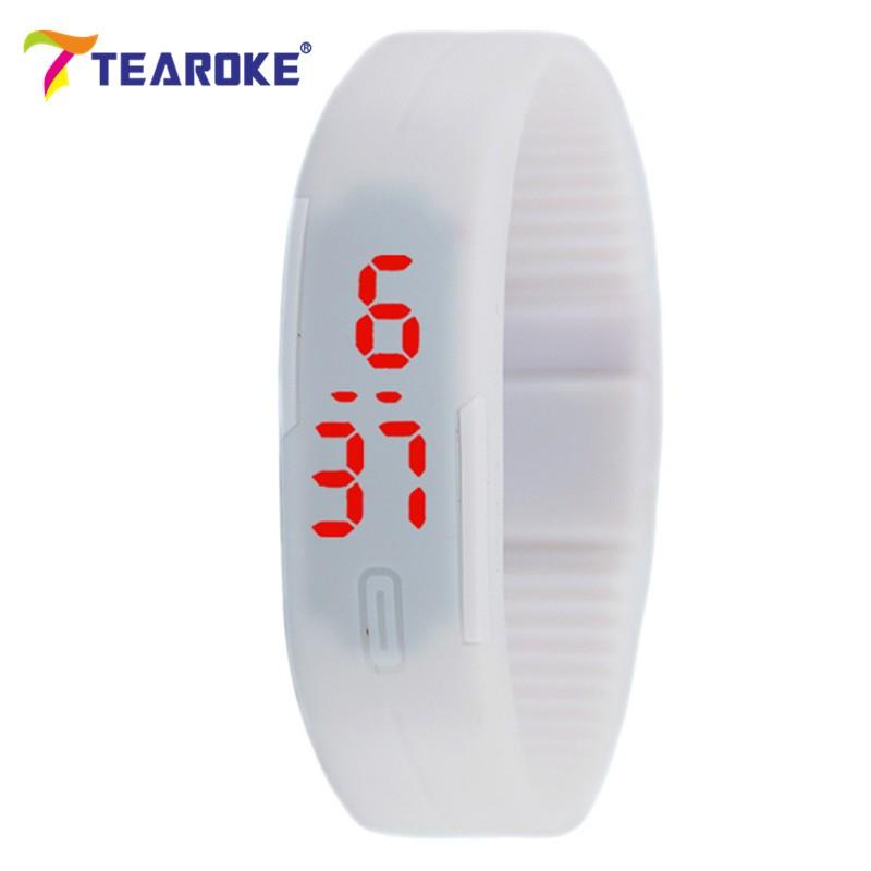 Dětské Tearoke sportovní hodinky - Bílá