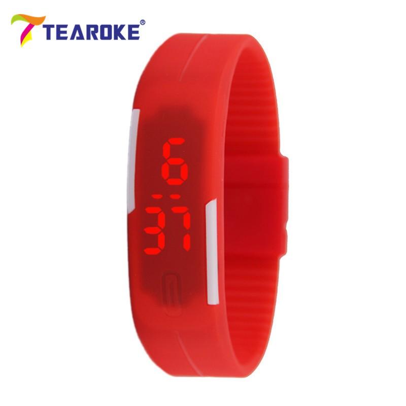 Dětské Tearoke sportovní hodinky - Červená