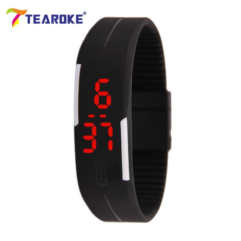 Dětské Tearoke sportovní hodinky - Černá