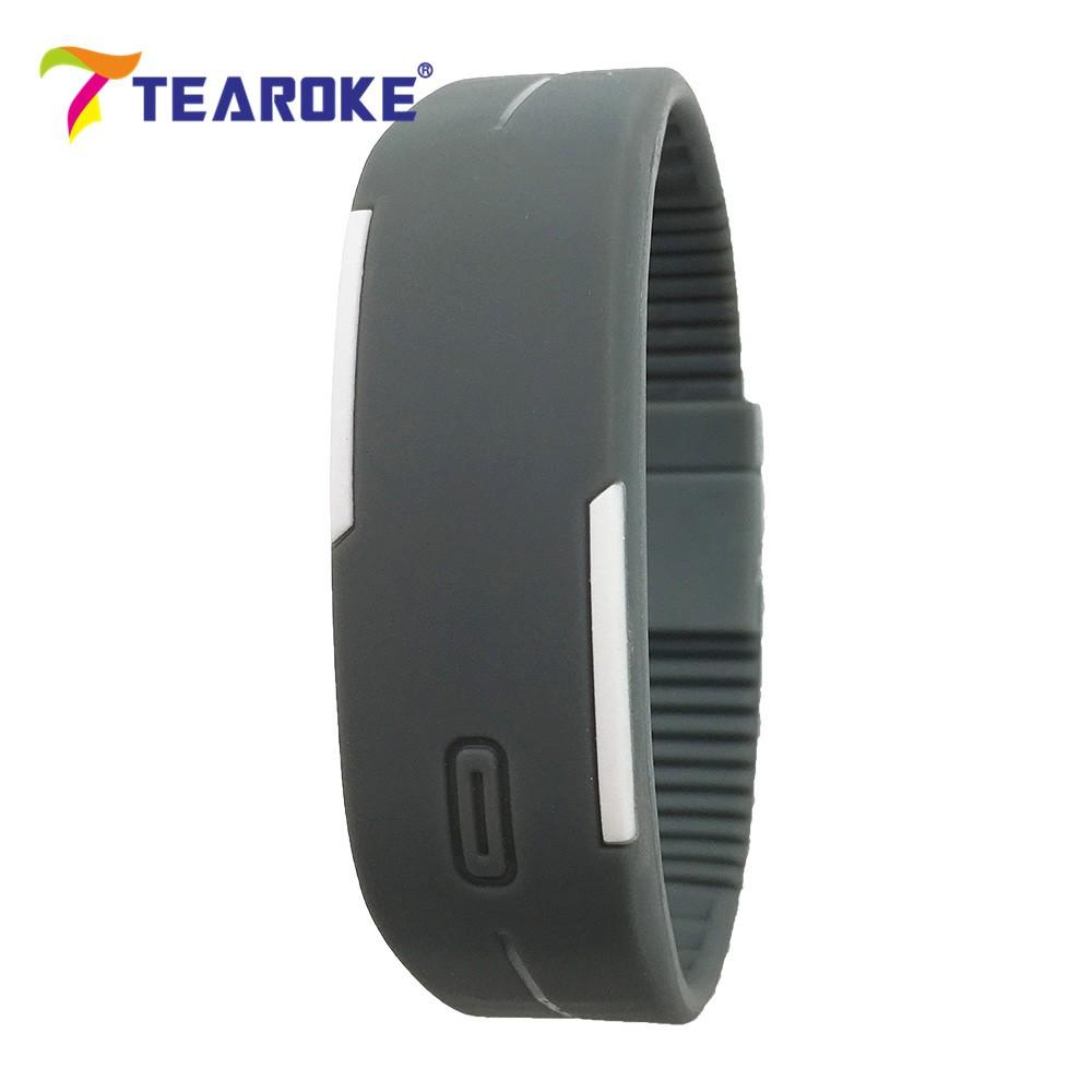 Dětské Tearoke sportovní hodinky - Šedivá