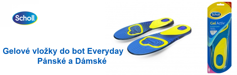 Vložky do bot Everyday